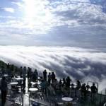صور من فوق الغيوم من شرفة أونكاي