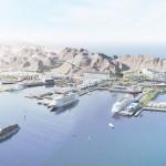 ميناء السلطان قابوس أشهر مواني سلطنة عمان