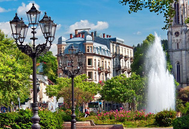 Baden-Baden's air of old-world luxury
