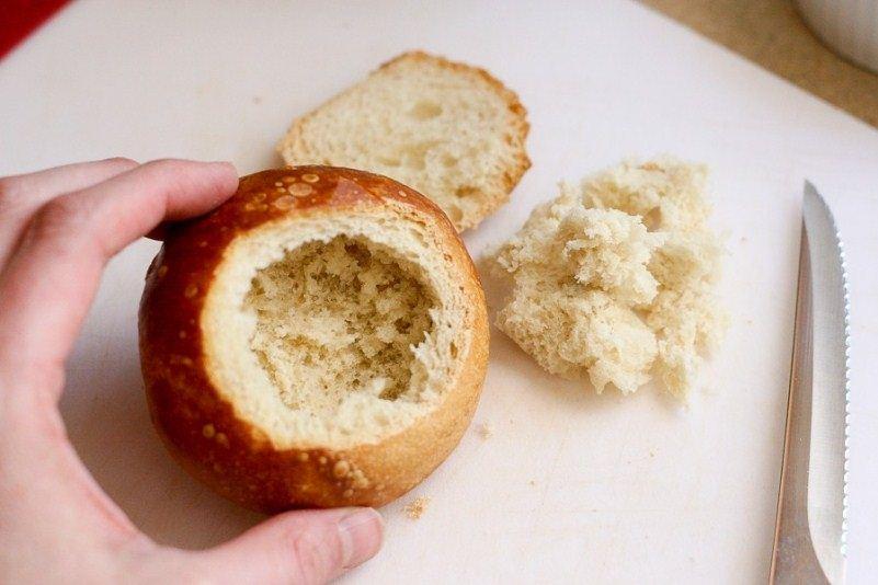 تقطيع الخبز