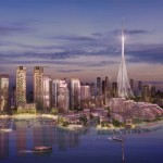 الكشف عن عناصر البرج الجديد في خور دبي