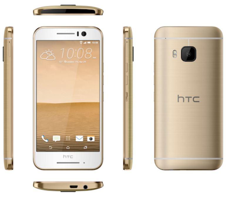 الهاتف الذهبي الجديد اتش تي سي وان S9