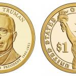 Harry S. Truman Presidential Dollar Coin 2015 - 336818