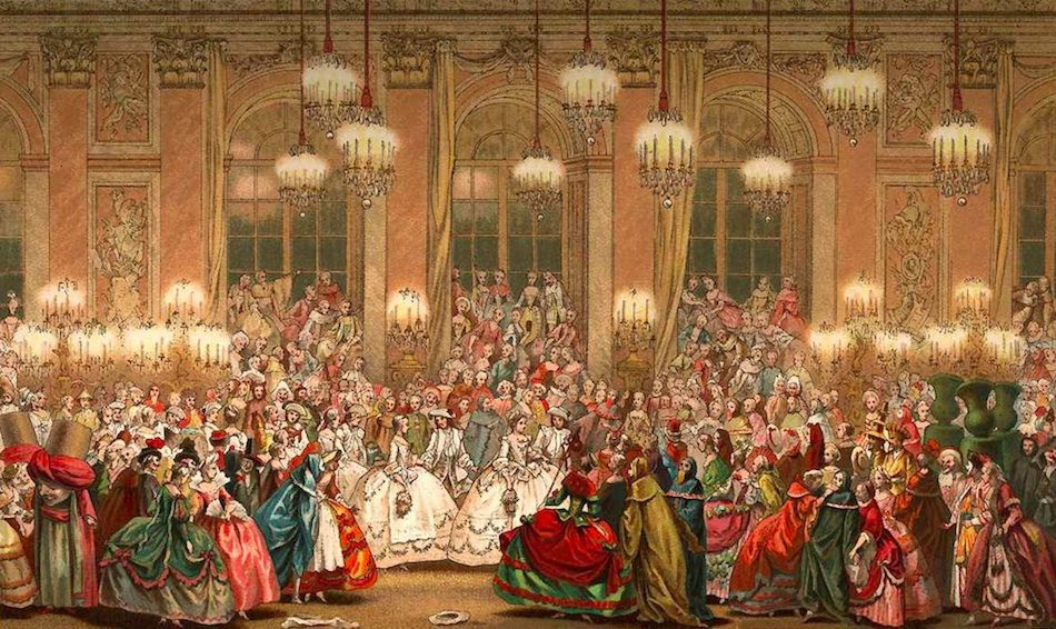 Masked Ball, Louis XV court