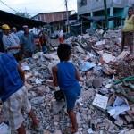 شاهد دمار زلزال الاكوادور بالصور