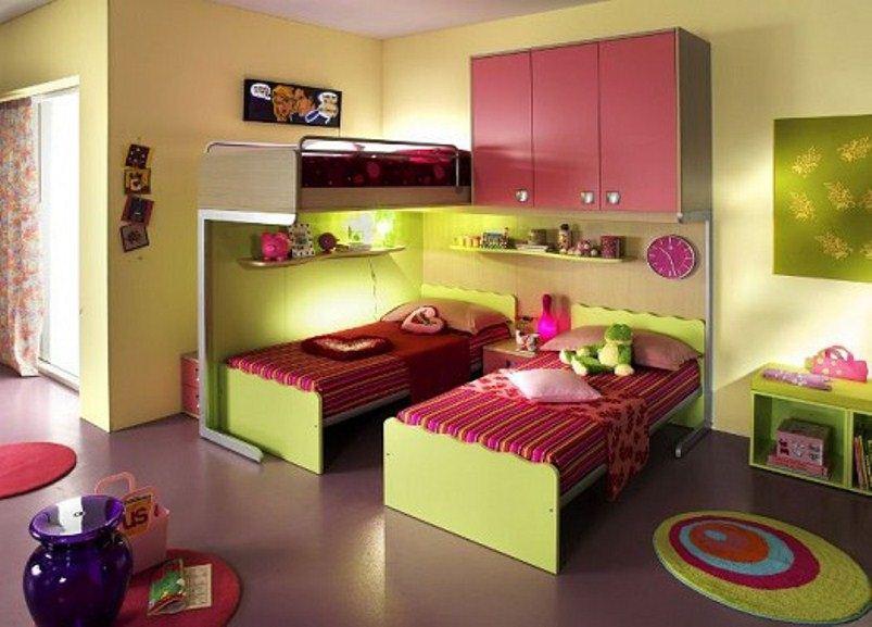 تصاميم غرف نوم ثلاث سراير | المرسال