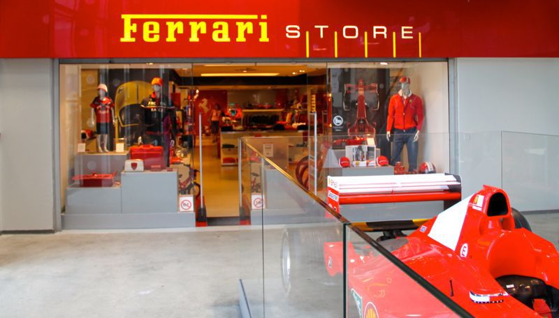 Foxtown outlet for Milan factory outlet
