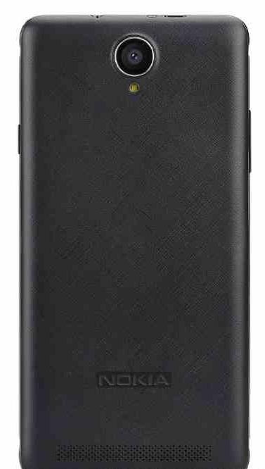 التصميم الخلفي للهاتف نوكيا A1