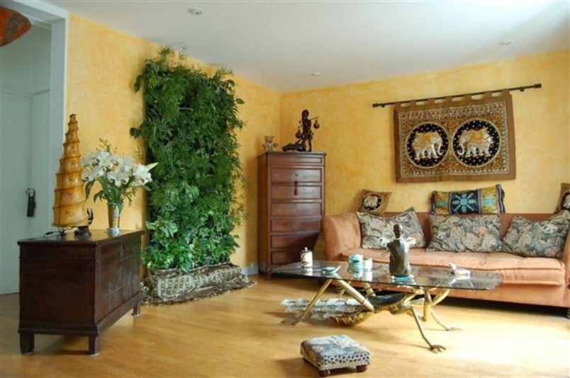 for Casas decoradas con plantas de interior