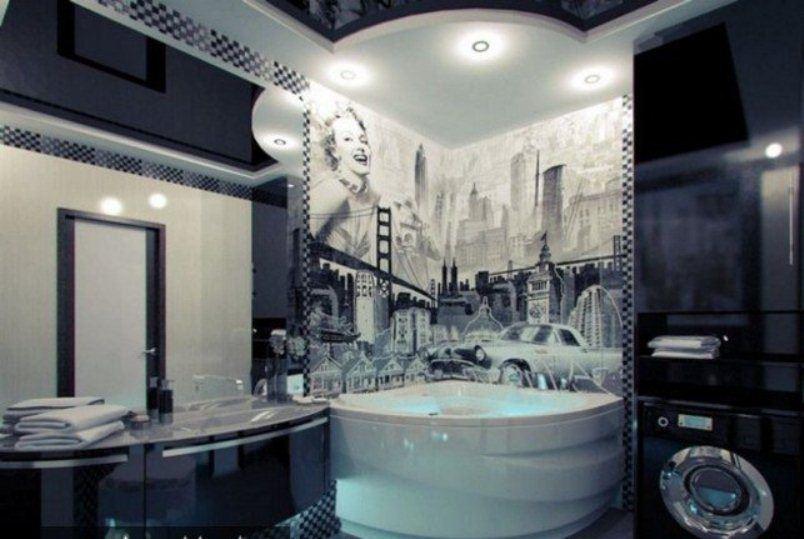 ديكورات حمامات 2016 المرسال