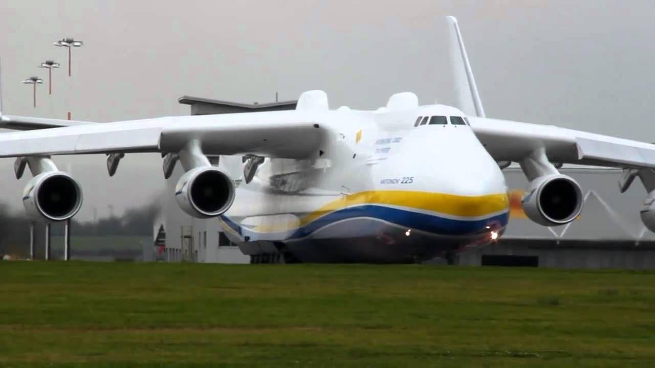 """أضخم طائرة في العالم """" أنتونوف أن-225 """" تحمل الدبابات - المرسال"""
