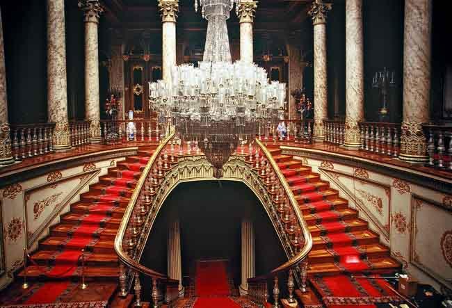 جانب من القصر الداخلى