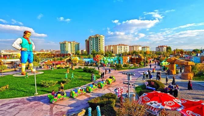 نتيجة بحث الصور عن حديقة أرض العجائب انقرة تركيا