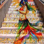 سلالم ملونة حول العالم