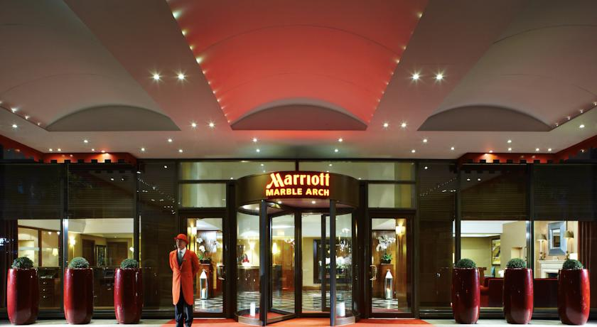 لندن ماريوت هوتل ماربل آرتش London Marriott Hotel Marble Arch