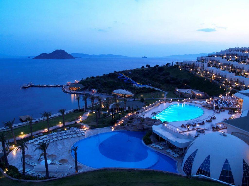 مدينة بودروم الساحلية بتركيا