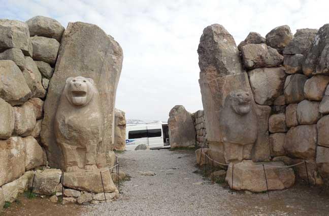 مدينة حَتُّوساس في بوغاز قلعة (جوروم)
