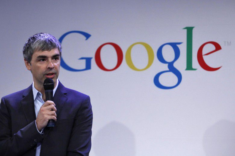 10. Larry Page (Net Worth – $37.5 billion)