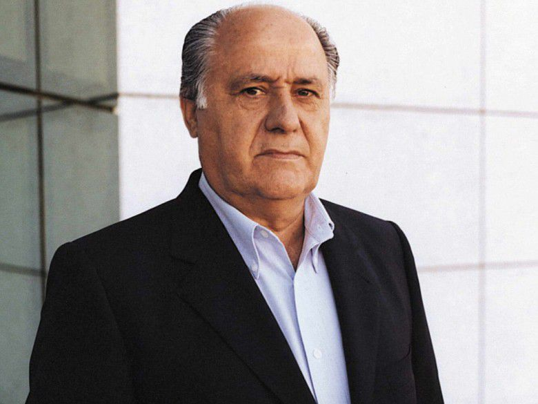2. Amancio Ortega (Net Worth – $71.6 billion)