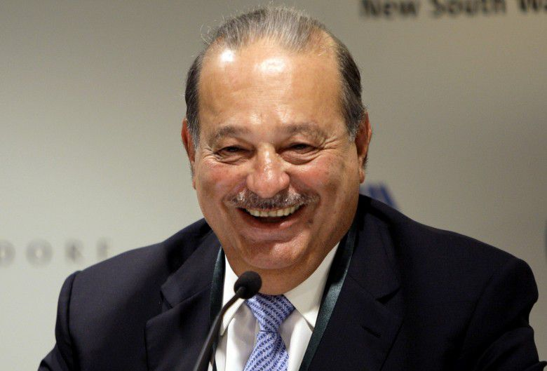 4. Carlos Slim Helu (Net Worth – $59.4 billion)