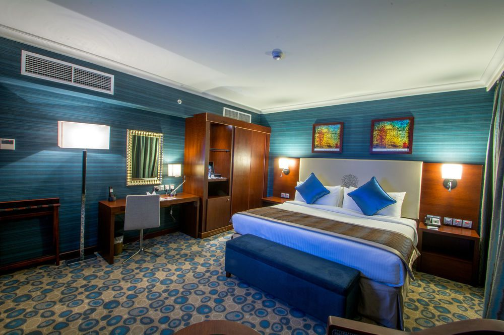 غرفة مزدوجة في فندق ميلينيوم العقيق بالمدينة المنورة