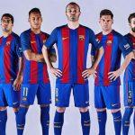 بالصور قميص برشلونة 2017 الجديد