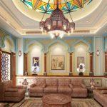 ديكور جدران المجالس العربية بأفكار عصرية