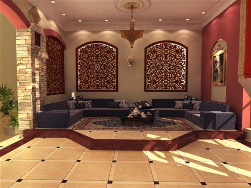 ديكور جدران المجالس العربية بأفكار عصرية | المرسال
