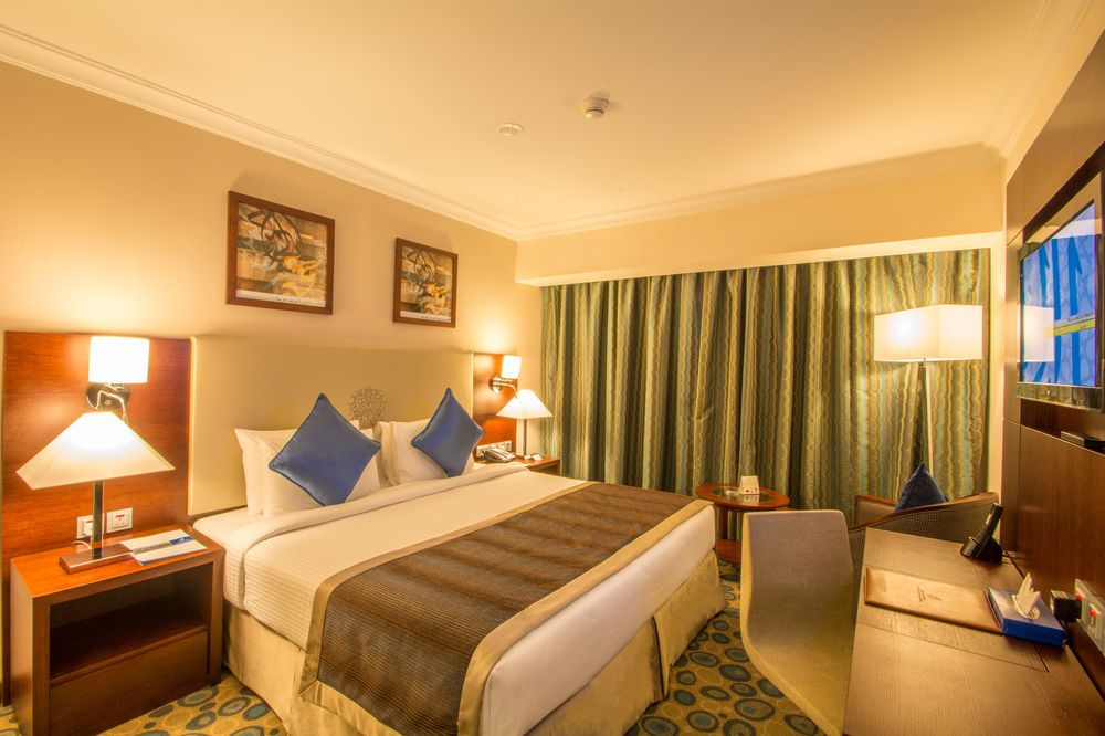 Double room in Millennium Al Aqeeq Hotel