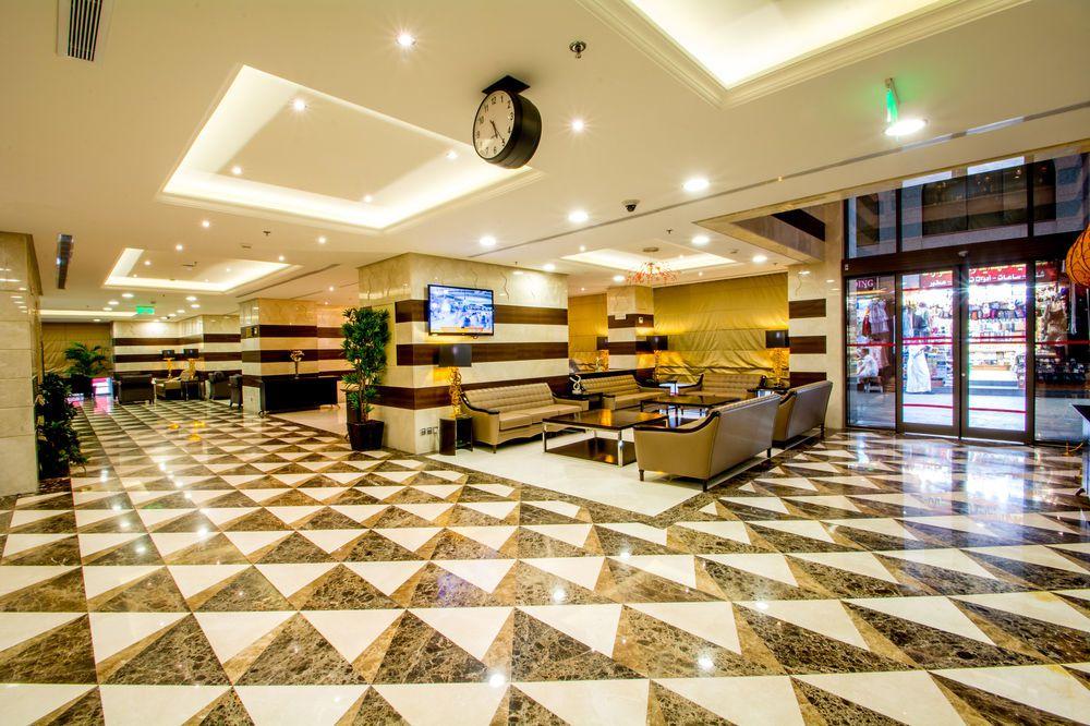 صالة الاستقبال في فندق ميلينيوم العقيق بالمدينة المنورة