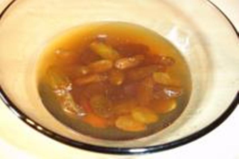 طريقة تحضير السوفيليه المالح Soak-raisins.jpg