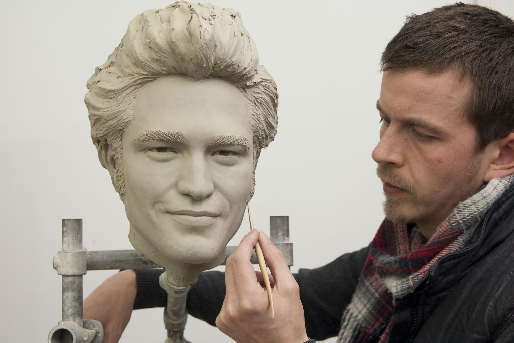 Take pictures with incredible waxworks