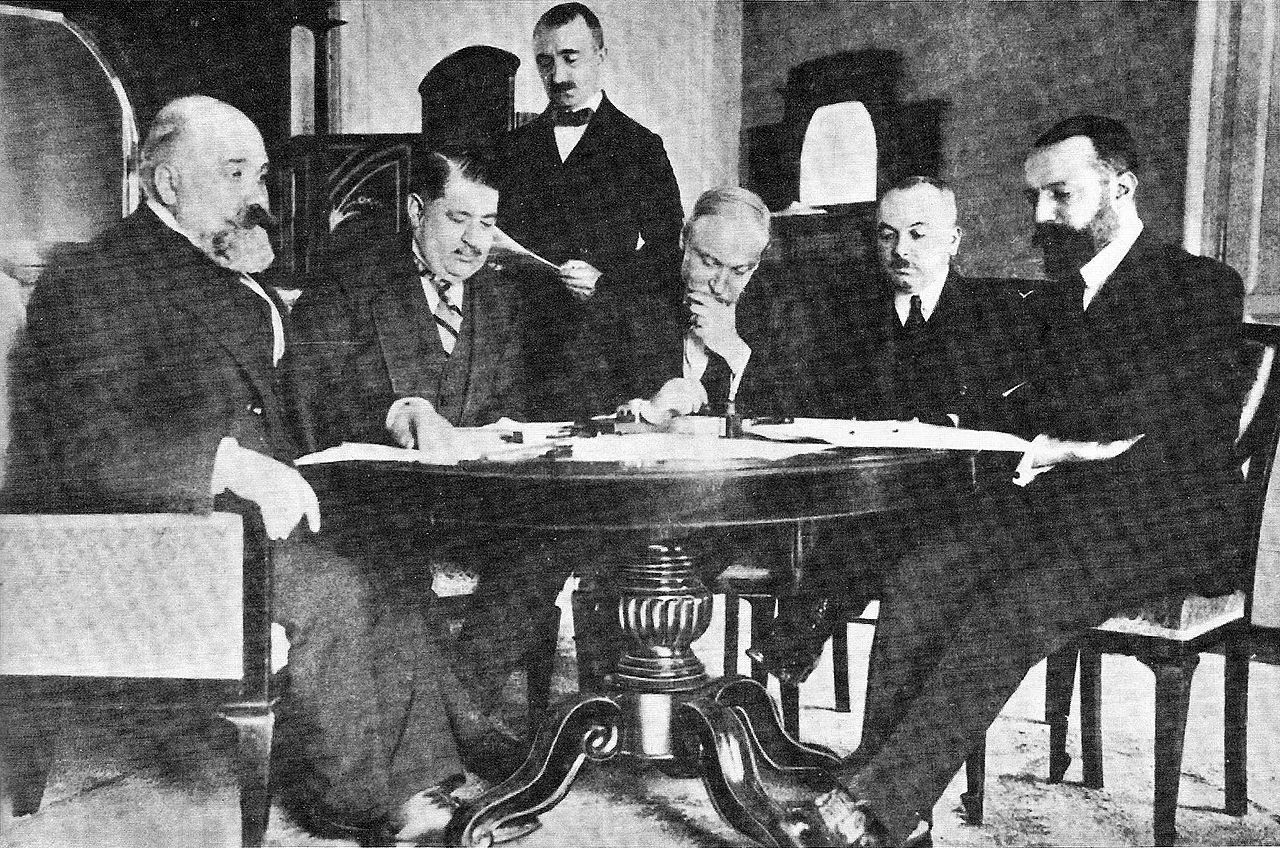 The Lausanne conference resulted