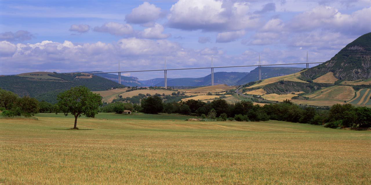 The Millau Viaduct is located in France