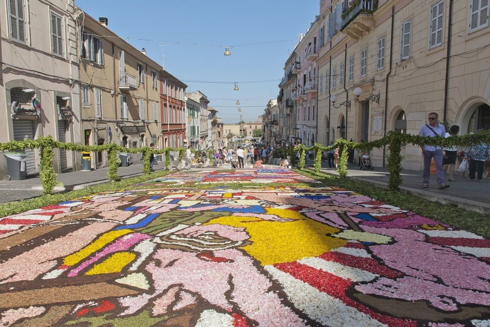The infiorata artists