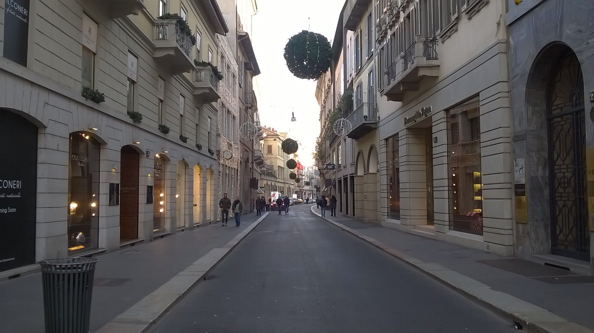 The street traces the Roman city