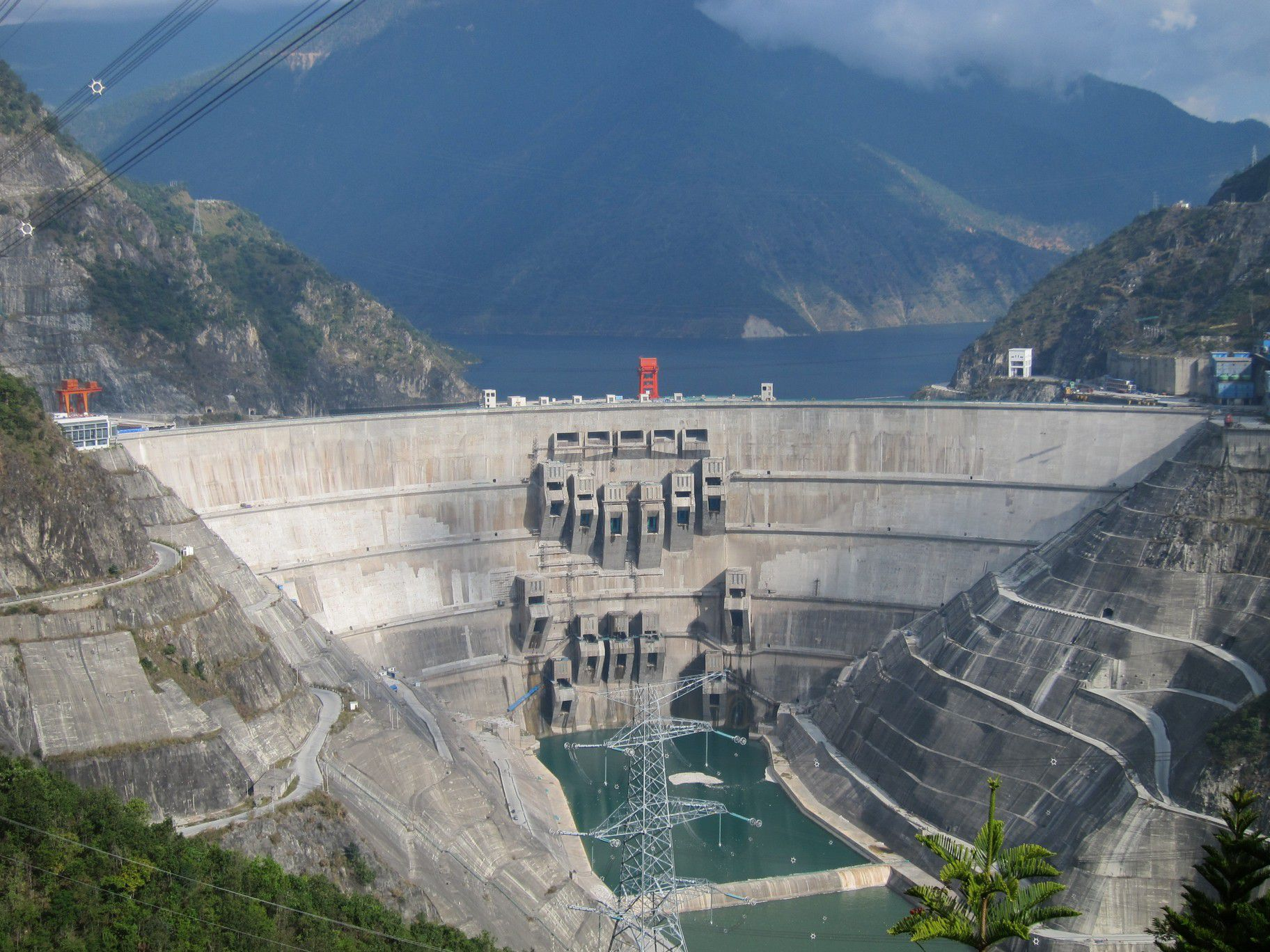 Xiaowan dam in China