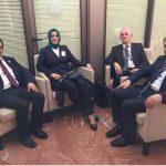 """"""" فاطمة بتول سايان كايا """" أصغر وزيرة في الحكومة التركية الجديدة"""