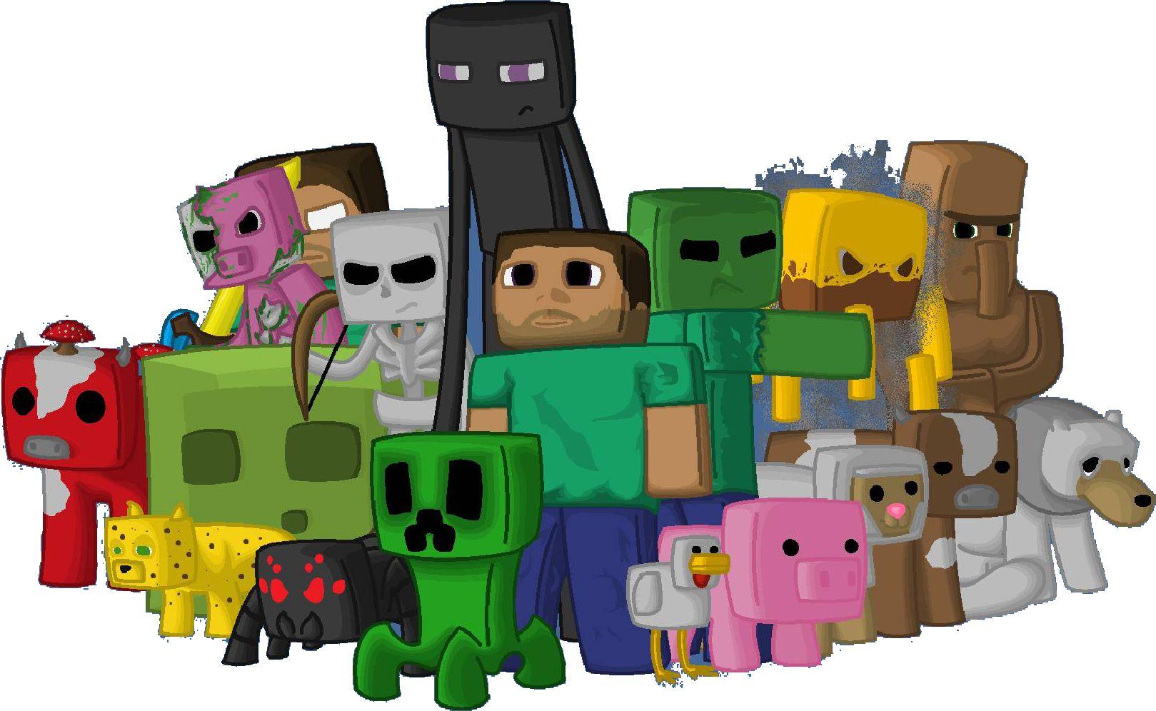 Minecraft main website - 4