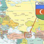 خريطة موقع اذربيجان - 351613