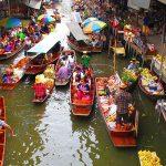 سوق دامنوين سادواك العائم
