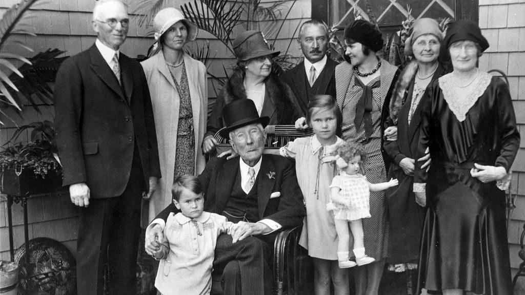 La famille Rockefeller