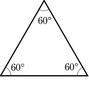 كيفَ تُحسب مساحة المثلَّث متساوي الأضلاع ؟