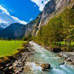 وادي لوتربرونن السويسري