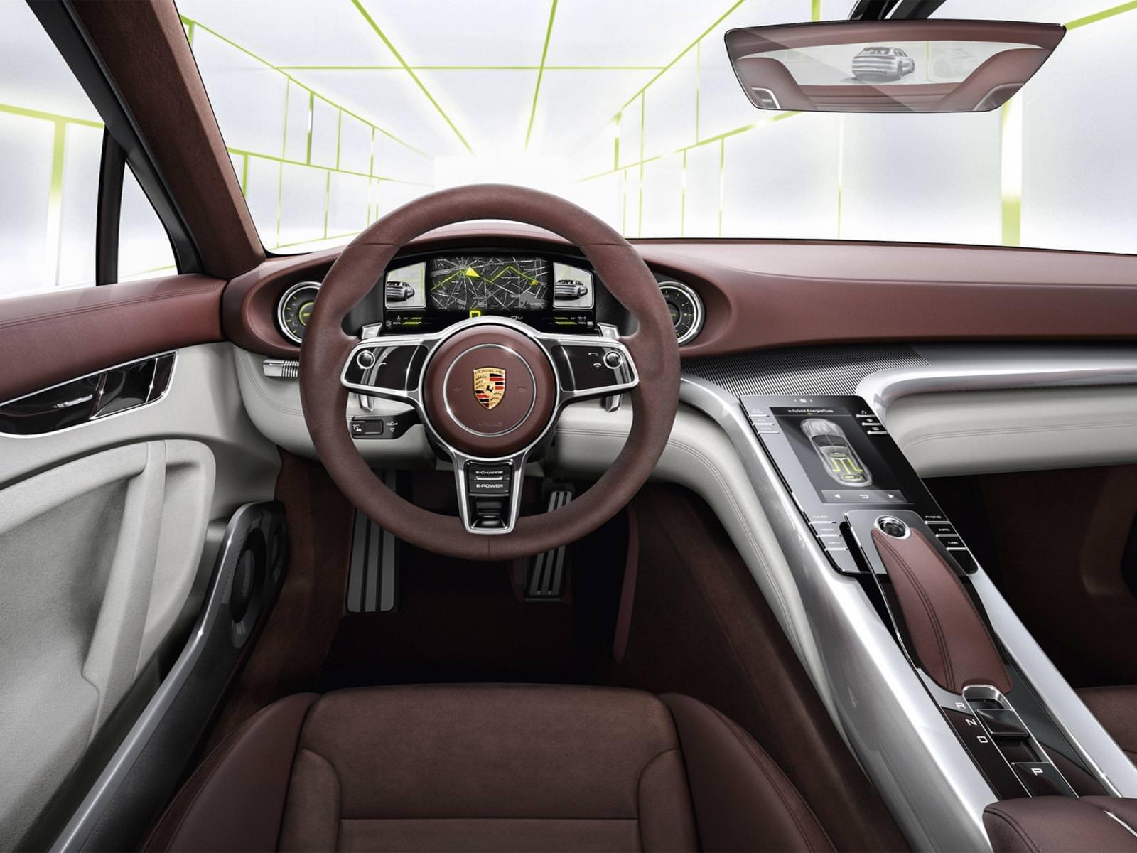التصميم الداخلي للسيارة بورش باناميرا 2017
