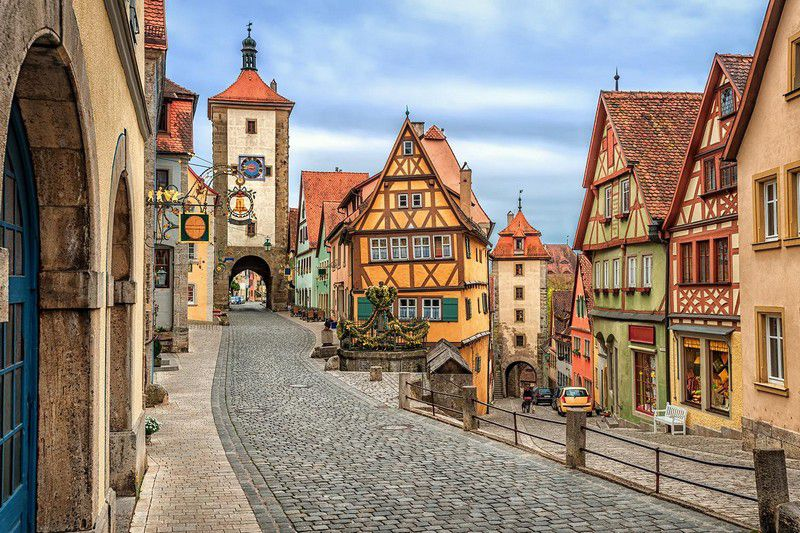 Rothenburg Ob Der Tauber Germany  city images : ROTHENBURG OB DER TAUBER, Germany | المرسال