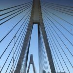 Anzak Bridge. Long more than 800 meters, the Anzak Bridge is one of the biggest attractions of Australia. - 358841