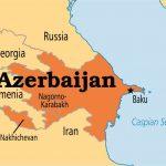 Azerbaijan map - 351604
