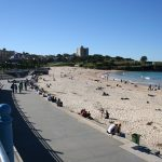 Bondi is one of the most beautiful urban beaches in Australia. It is extremely impressive with its picturesque location. - 358844