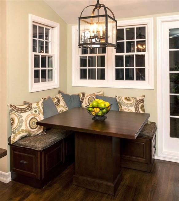 الجلد طاولة مودرن التصميم الريفي لنمط التقليدي الديكور الخشبي الطاولة